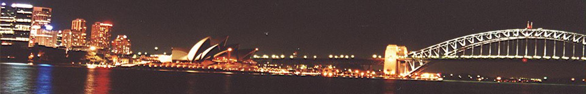 Sydney nocą 1920x308